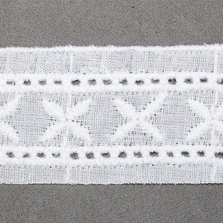 Entremeio de algodão - Peça BA027