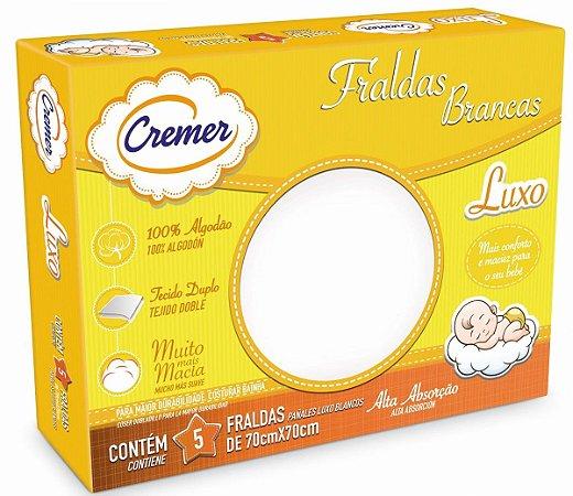 Fralda Cremer - Luxo