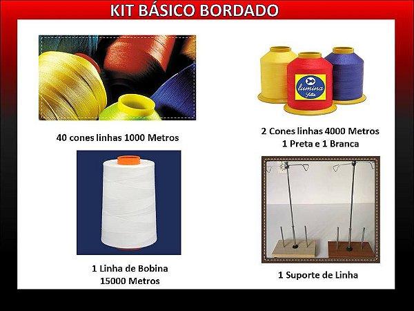 Kit Básico Bordado