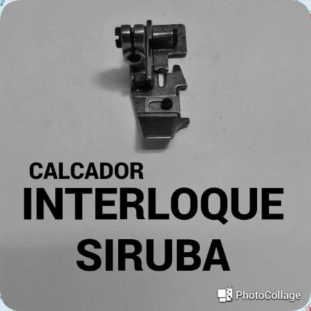 Calcador Interloque Siruba
