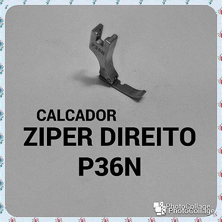 Calcador Ziper Direito P36N