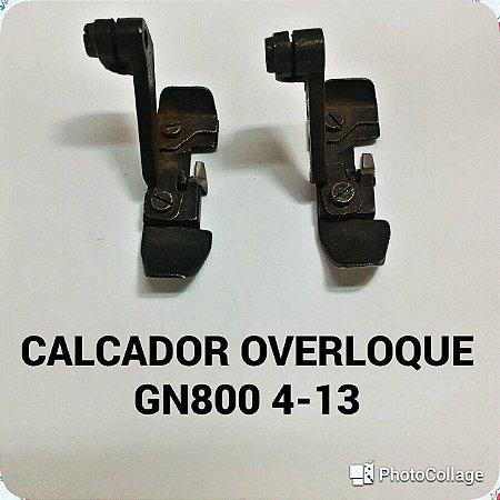Calcador Overloque GN800 4-13