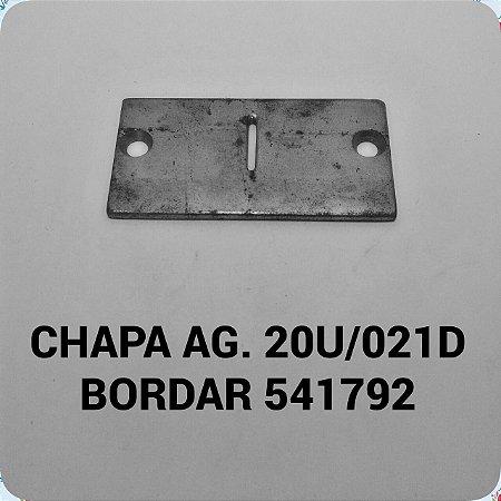 Chapa de Agulha 20U/021D Bordar 541792