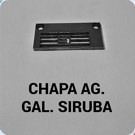Chapa de Agulha Galoneira Siruba