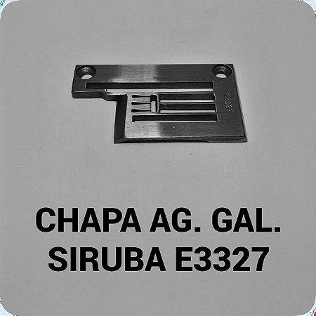 Chapa de Agulha Galoneira Siruba E3327
