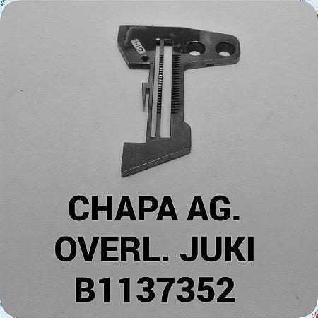 Chapa de Agulha Overloque Juki B1137352