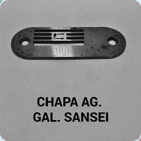 Chapa de Agulha Sansei