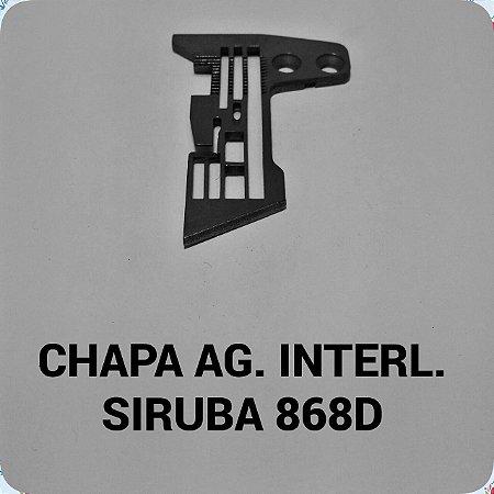 Chapa de Agulha Interloque Siruba 868D