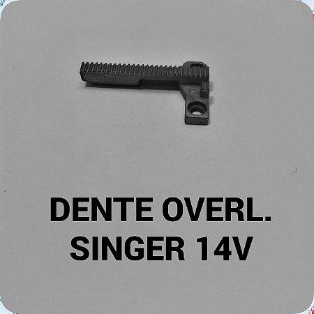 Dente Overloque Singer 14U
