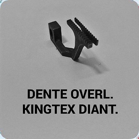 Dente Overloque Kingtex Dianteiro