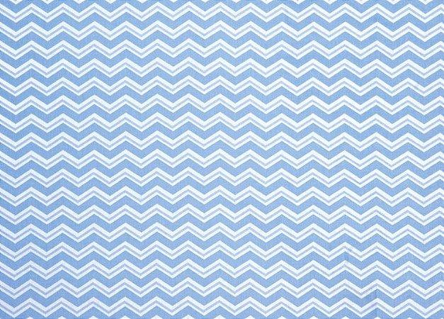 TECIDO PARA PATCHWORK AM-2594 ESTAMPADO - 5148 Azul