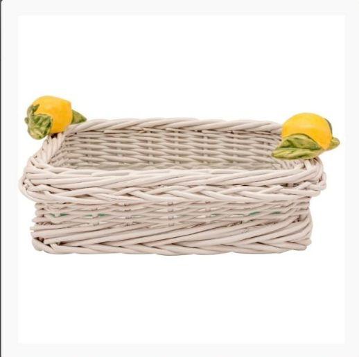 Porta Guardanapos em limão siciliano VIME