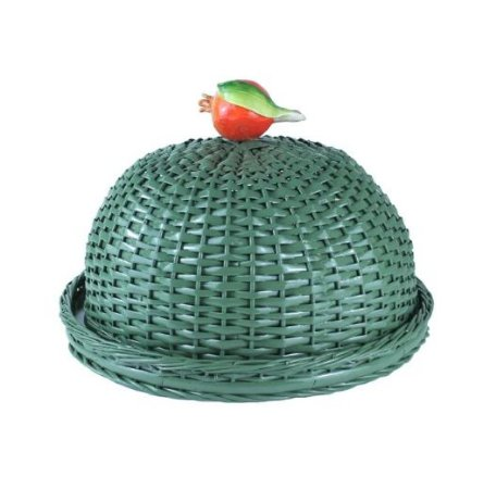 Boleira Romã Verde 35 cm de diâmetro x 25 cm altura