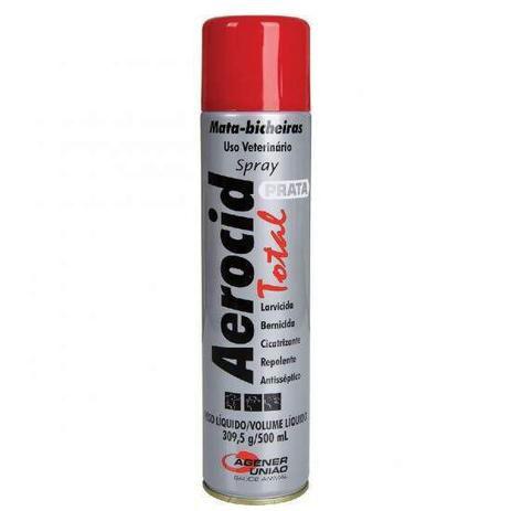 Aerocid Spray Prata 500 ml