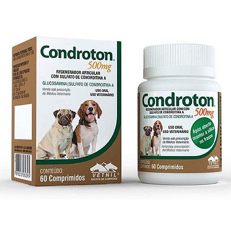 Condroton Pet 500 gr 60 comprimidos