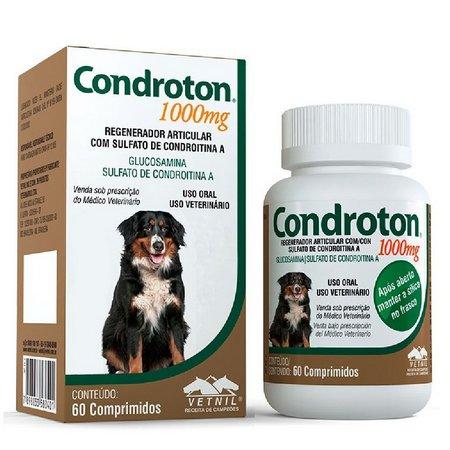 Condroton Pet 1000 mg 60 comprimidos