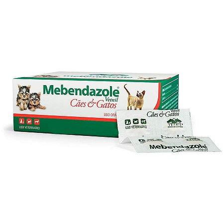 Mebendazole Cães e Gatos 6 comprimidos