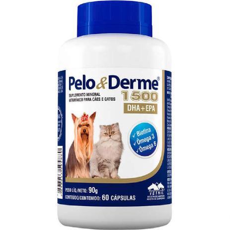 Pelo e Derme 1500 mg 60 comprimidos