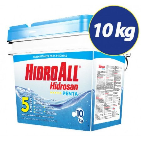 Hidro All  Hidrosan Penta Cloro Granulado 10 Kg