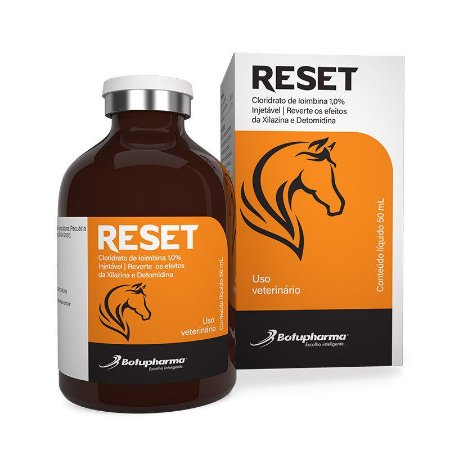 Reset (Cloridrato de Ioimbina 1%) Injetável 50 ml