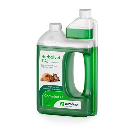 Desinfetante Herbalvet T.A Ouro Fino 1 Litro