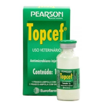 Topcef Ceftiofur Injetável 1 gr 20 ml