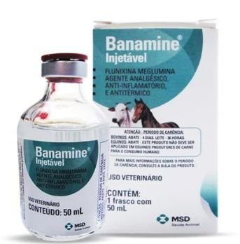 Banamine Injetável 50 ml