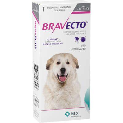 Bravecto 1400 mg 40 até 56 Kg