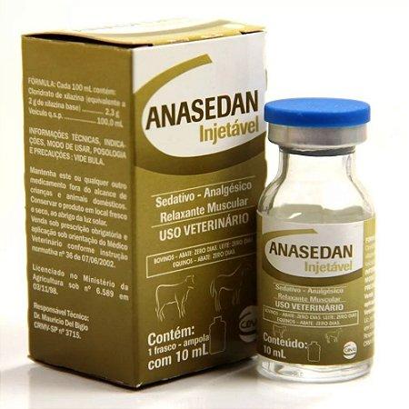 Anasedan (Xilazina 2%) 10 ml