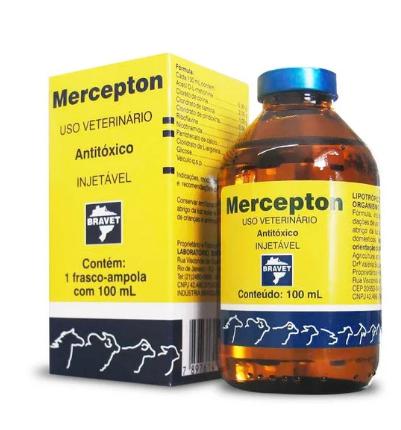 Mercepton Injetável 100 ml