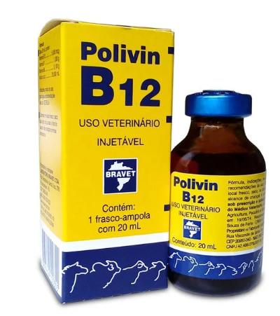 Polivin B12 Injetável 20 ml
