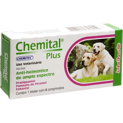 Chemital Plus 4 Comprimidos