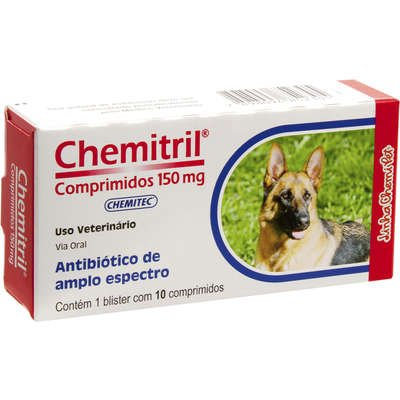 Chemitril 150 mg 10 Comprimidos
