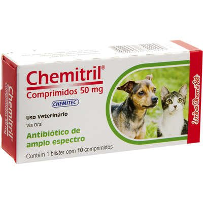 Chemitril 50 mg 10 Comprimidos