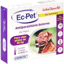 Ec-pet (Fipronil) acima 40 Kg 4,02 ml
