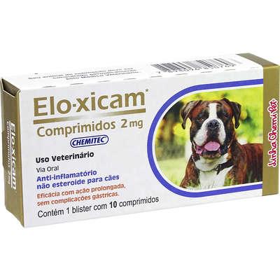 Elo-Xican (Meloxican) 2,0 mg 10 Comprimidos