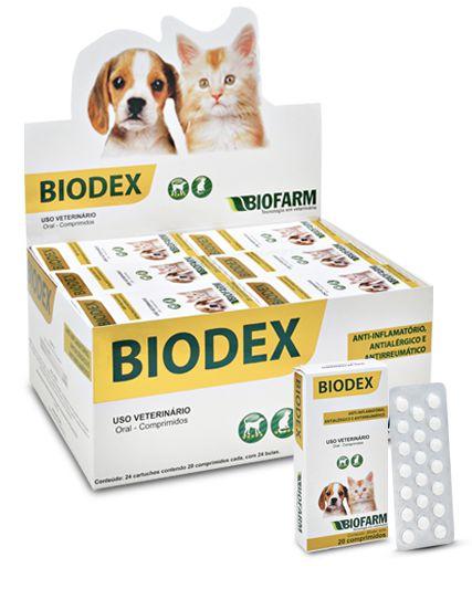 Biodex 20 Comprimidos