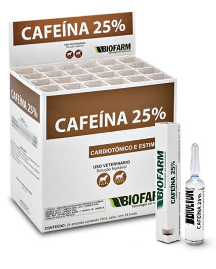 Cafeína 25% Biofarm 10 ml
