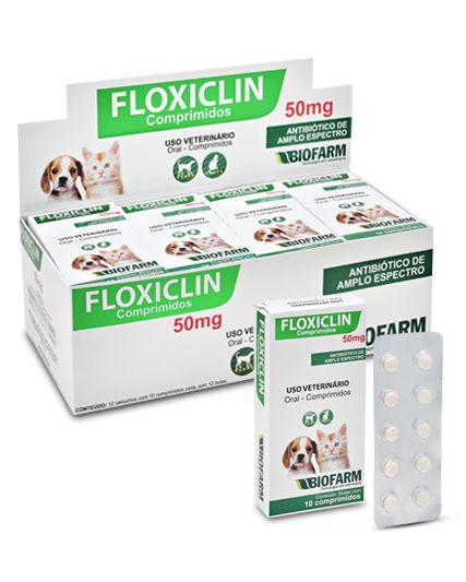Floxiclin 50 mg 10 Comprimidos