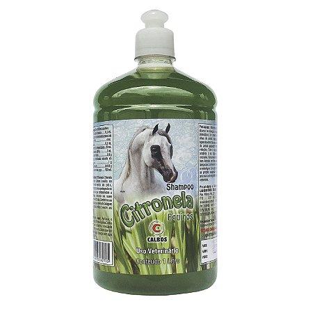 Shampoo Citronela Calbos 1 Lt
