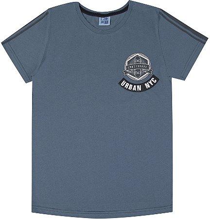Camiseta Infantil Menino Urban NY Azul