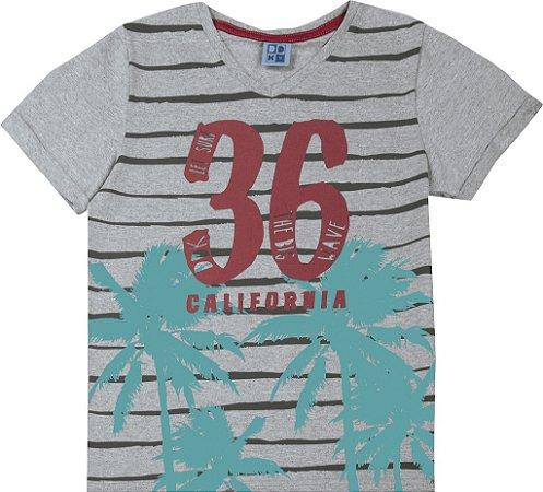 Camiseta Juvenil Menino California Mescla