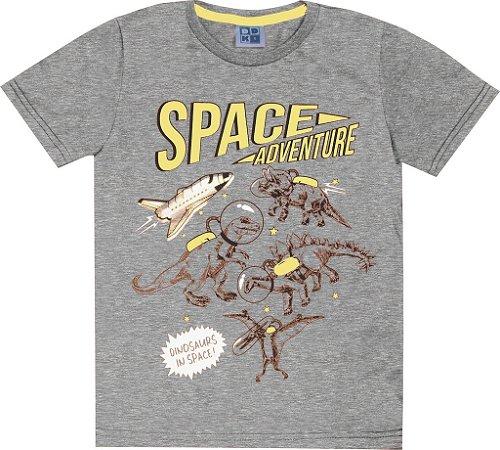 Camiseta Infantil Menino Space Mescla