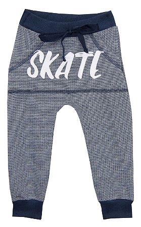 Calça Infantil Menino Skate Azul