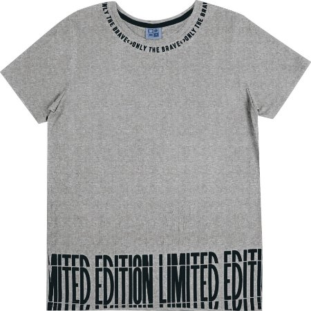 Camiseta Juvenil Menino Limited Mescla