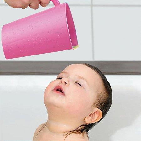 Caneca Para Enxaguar O Cabelo Rosa Multikids Baby - BB202
