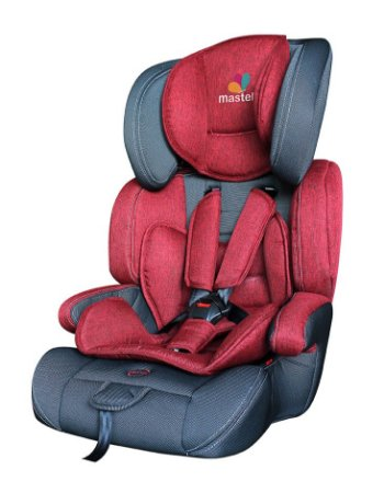 Cadeira Para Carro Allegra Vermelho Escuro