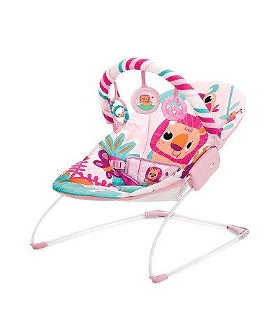 Cadeira Musical E Vibratoria Rosa Selva