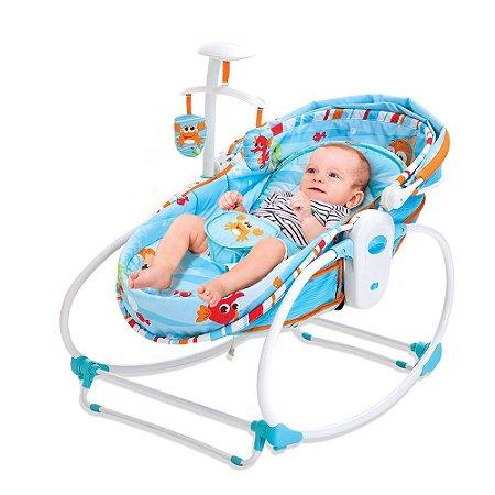Cadeira Moises 5 Em 1 Mar Azul