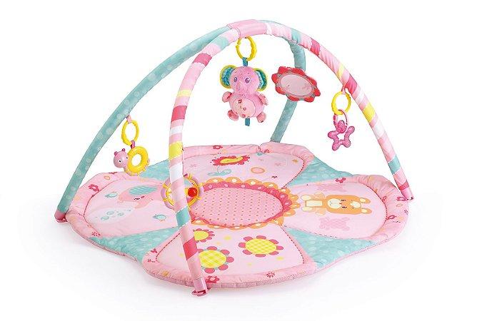 Tapete Infantil Rosa Elefante